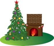 De ruimte van Kerstmis Stock Afbeeldingen