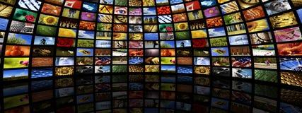 De ruimte van media Stock Afbeelding