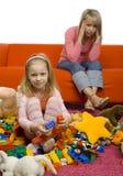 De ruimte van onordelijke kinderen Stock Foto