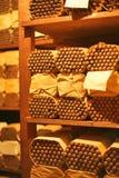 De ruimte van sigarenhumidor bij Tabakshuis Stock Fotografie