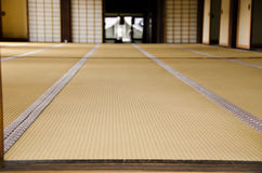 De ruimte van Tatami Stock Fotografie
