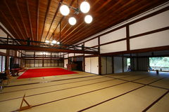 De ruimte van Tatami stock foto's