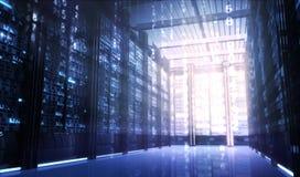 De ruimte van Techno Stock Afbeeldingen