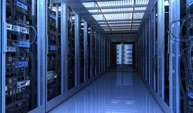 De ruimte van Techno Stock Afbeelding