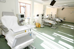 De ruimtebinnenland van het ziekenhuis Stock Foto