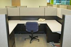 De Ruimten van het bureau Stock Foto