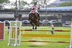 2015 de ruiterspelen van Taiwan (het springen) Stock Foto