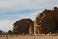 De rum van de wadi Stock Afbeelding