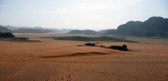 De Rum van Jordanië - Vadi- Royalty-vrije Stock Afbeeldingen