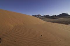 De rummening van de wadi Stock Afbeeldingen