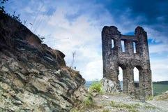 De ruïne Grevenburg van Castele Royalty-vrije Stock Afbeeldingen