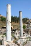 De ruïnes Izmir-Turkije van Ephesus Stock Afbeeldingen