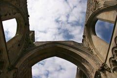 De Ruïnes van de abdij Royalty-vrije Stock Afbeelding