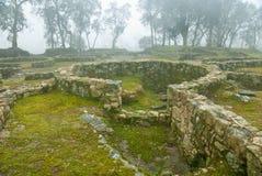 De ruïnes van de voorgeschiedenis Stock Afbeeldingen