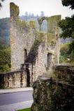 De Ruïnes van Luxemburg Fortess Stock Foto