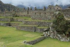 De Ruïnes van Picchu van Machu in Peru Stock Afbeelding