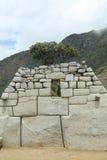 De Ruïnes van Picchu van Machu in Peru Royalty-vrije Stock Afbeelding