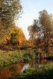 De Russische herfst stock fotografie