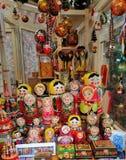 De Russische Herinneringen van Matryoshkapoppen royalty-vrije stock afbeelding