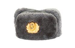 De Russische hoed van het de winterleger Royalty-vrije Stock Afbeelding