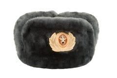 De Russische hoed van het de winterleger Royalty-vrije Stock Foto's