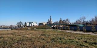 De Russische kerk van Irkoetsk, Rusland stock afbeelding