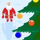 De Russische Kerstman Royalty-vrije Stock Foto's