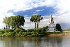De Russische Orthodoxe Kerkzomer, reis Royalty-vrije Stock Fotografie