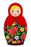 De Russische poppen van traditiematryoshka Stock Foto