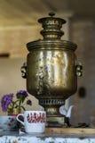 De Russische samovar van Tula Stock Afbeeldingen
