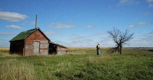 De Rust van de cowboy stock foto