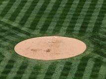 De rust van het honkbal op een hoop Royalty-vrije Stock Afbeeldingen