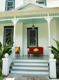 De rustgevende Portiek van het Huis stock fotografie