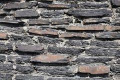 De rustieke achtergrond van de steenmuur Stock Afbeelding