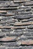 De rustieke achtergrond van de steenmuur Royalty-vrije Stock Afbeeldingen