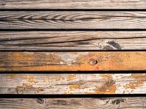 De rustieke houten plattelander van de de herfstdaling van de planken zanderige houten textuur backgr Royalty-vrije Stock Foto