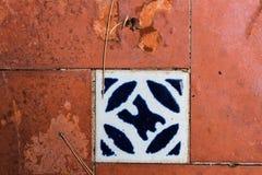 De rustieke Tegels detailleren Roestig Stock Afbeeldingen