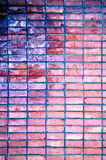De ruwe achtergrond van de grungebakstenen muur Stock Afbeelding