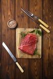 De ruwe filet van het rundvleesvlees Royalty-vrije Stock Fotografie
