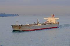 De ruwe oliecarrier van de tanker schip Royalty-vrije Stock Foto