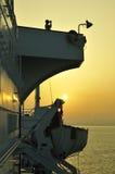 De ruwe oliecarrier van de tanker schip Stock Afbeelding
