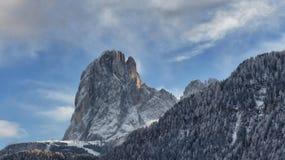 De ruwe schoonheid van de bergpieken Royalty-vrije Stock Foto's