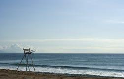 De ruwe stoel van de badmeester, Stock Foto