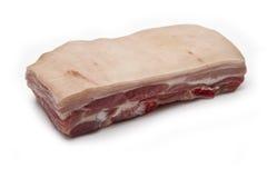 De ruwe verbinding van de Buik van het Varkensvlees royalty-vrije stock fotografie