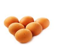 De ruwe verse eieren van de eierenkip Royalty-vrije Stock Foto's