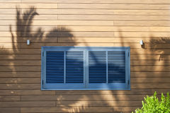De ruwe zonneblinden van het venster, Royalty-vrije Stock Fotografie