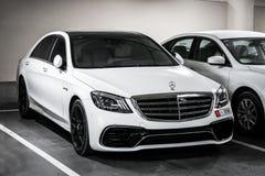 De s-Klasse van Mercedes-Benz W222 royalty-vrije stock foto