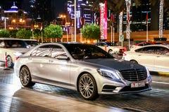 De s-Klasse van Mercedes-Benz W222 stock foto
