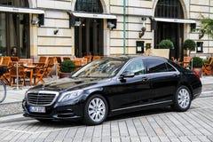 De s-Klasse van Mercedes-Benz W222 royalty-vrije stock foto's