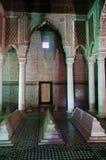 De Saadiens-Graven in Marrakech, Marokko. royalty-vrije stock afbeeldingen